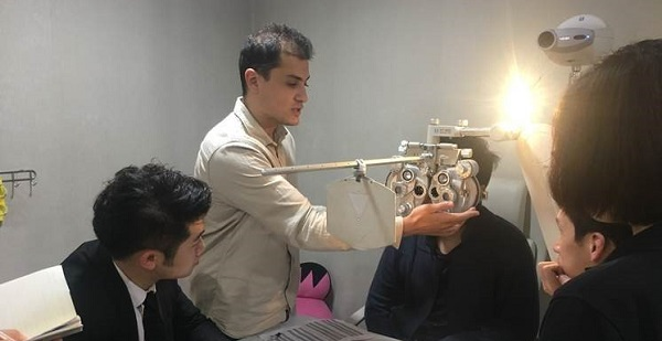 cours optometrie ecole optique chine iso