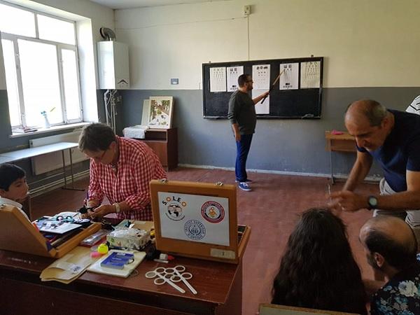 mission humanitaire armenie soleo 2018