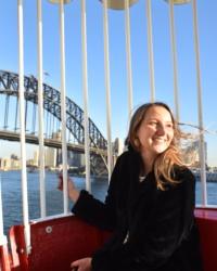 Léa Delaye, Stage à Sydney 2018