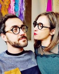 Romain Mercadier et Marine Bes, créateur de la marque La Brique et La Violette