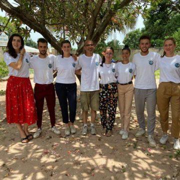 equipe Soleo enmission humanitaire au Sénégal