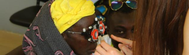 Mission humanitaire : une opticienne rejoint l'équipe médicale de l'association Peuples Humana