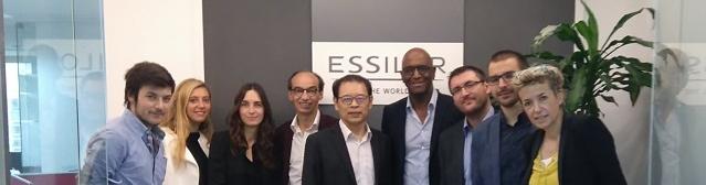 Les étudiants de MBA à la rencontre des grands acteurs du marché de l'optique en Chine
