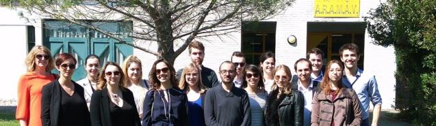 Les étudiants de l'ISO Marseille en visite dans un centre de basse vision