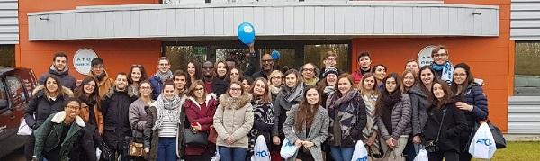 Immersion au cœur des centres de production ESSILOR et ATOL pour les élèves du BMO