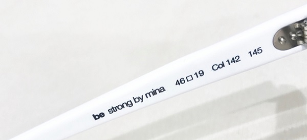 collection iso be strong by mina