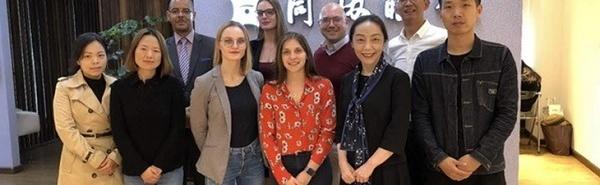 Voyage d'études : les MBA découvrent le marché de l'optique en Chine