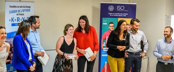Grande finale du challenge ISO BMO x Krys Group : l'évolution des étudiants saluée par les professionnels